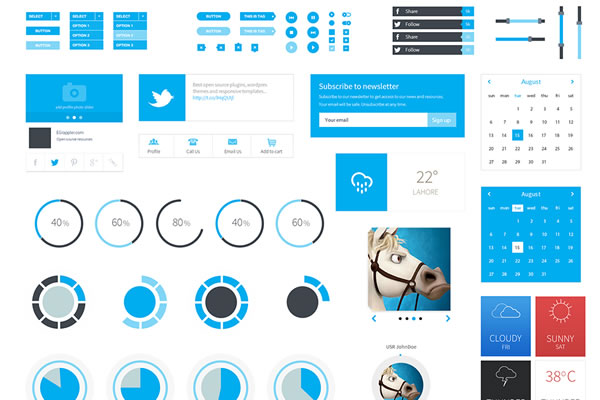 Flat User Interfaces