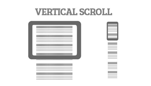 Vertical Scrolling or Parallax Scrolling