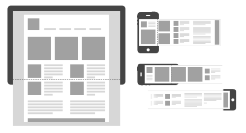 Horizontal Scrolling or Parallax Scrolling