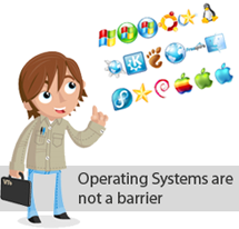 Operating Systems are not a barrier
