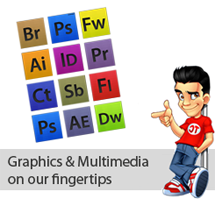 Graphics and Multimedia on our fingertips