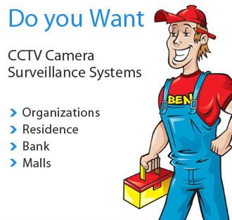 Cctv Dubai Security Surveillance System With Dvr Mobile